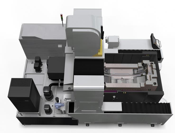 электроэрозионный прошивной сверхгабаритный станок Sodick AQ15L - вид сверхх