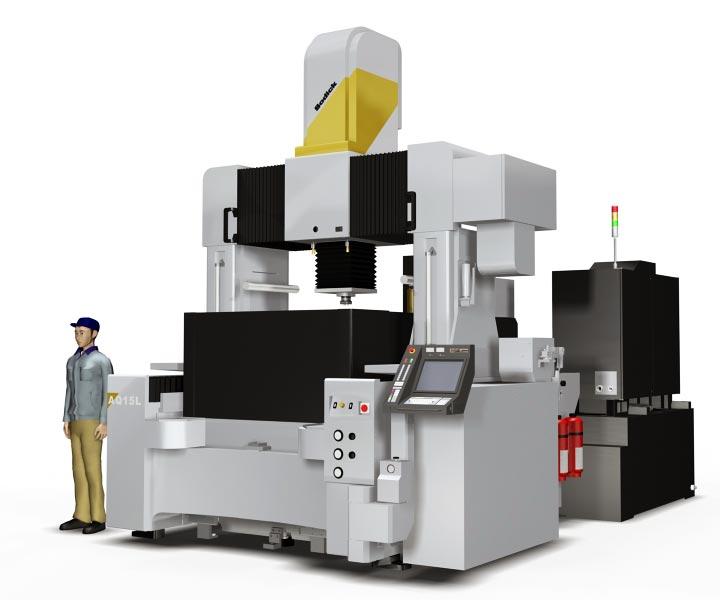 электроэрозионный прошивной сверхгабаритный станок Sodick AQ15L размера XXL