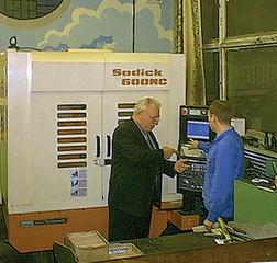 cтарейший пользователь станками Sodick Магнетон
