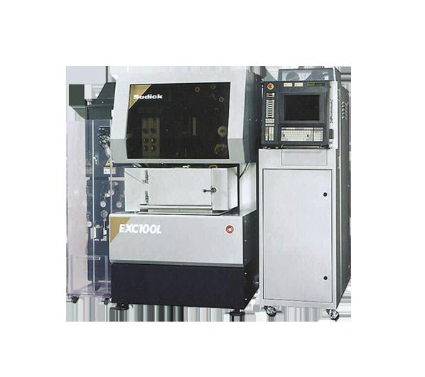cамый точный в мире электроэрозионный проволочно-вырезной полно-керамический станок Sodick EXC100L с линейными сервоприводами