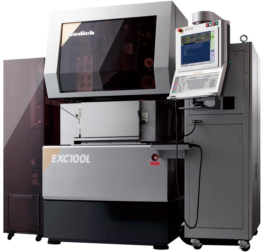 электроэрозионный проволочно-вырезной нанопрецизионный станок Sodick EXC100L