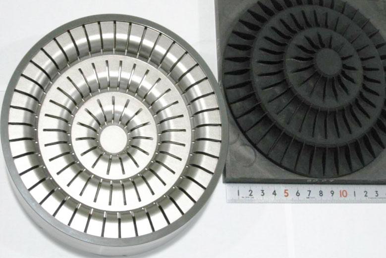электроэрозионная обработка матрицы с глубокими пазовыми полостями