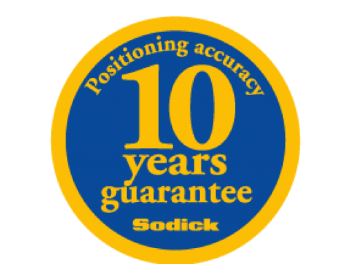 10-летняя гарантия точности позиционирования линейных электроискровых станков Sodick