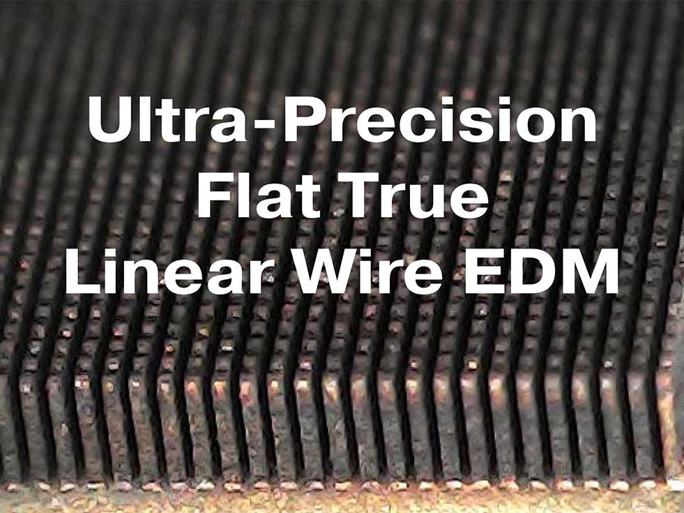 Sodick 30 micron wire EDM cutting
