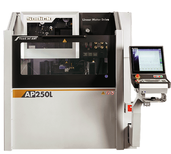 электроэрозионный вырезной сверхпрецизионный станок Sodick AP250L с линейными сервоприводами