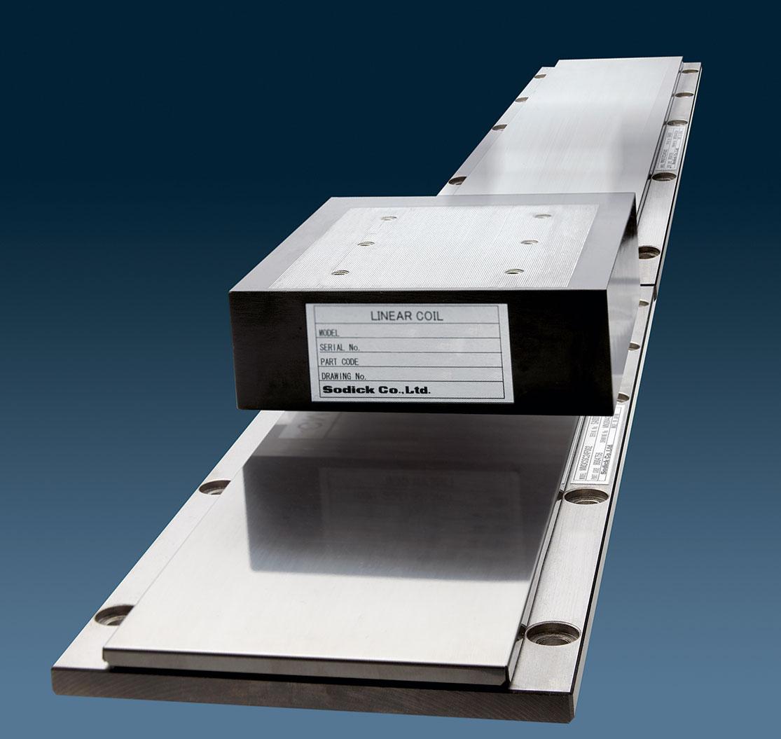линейный двигатель станков Sodick планарного жесткого типа
