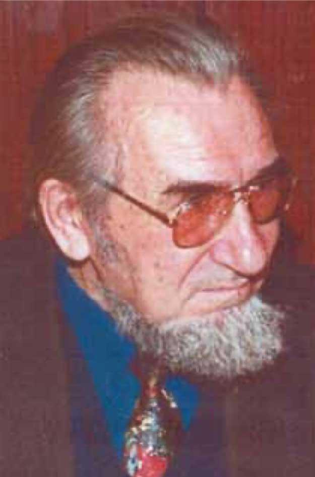 создатель 1-го в мире ЭЭ вырезного станка Ставицкий Борис Иванович