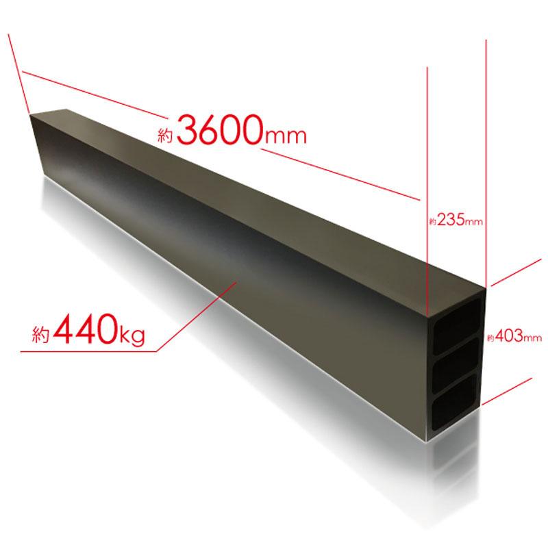 керамик FineXCera - 3600мм, 440кг