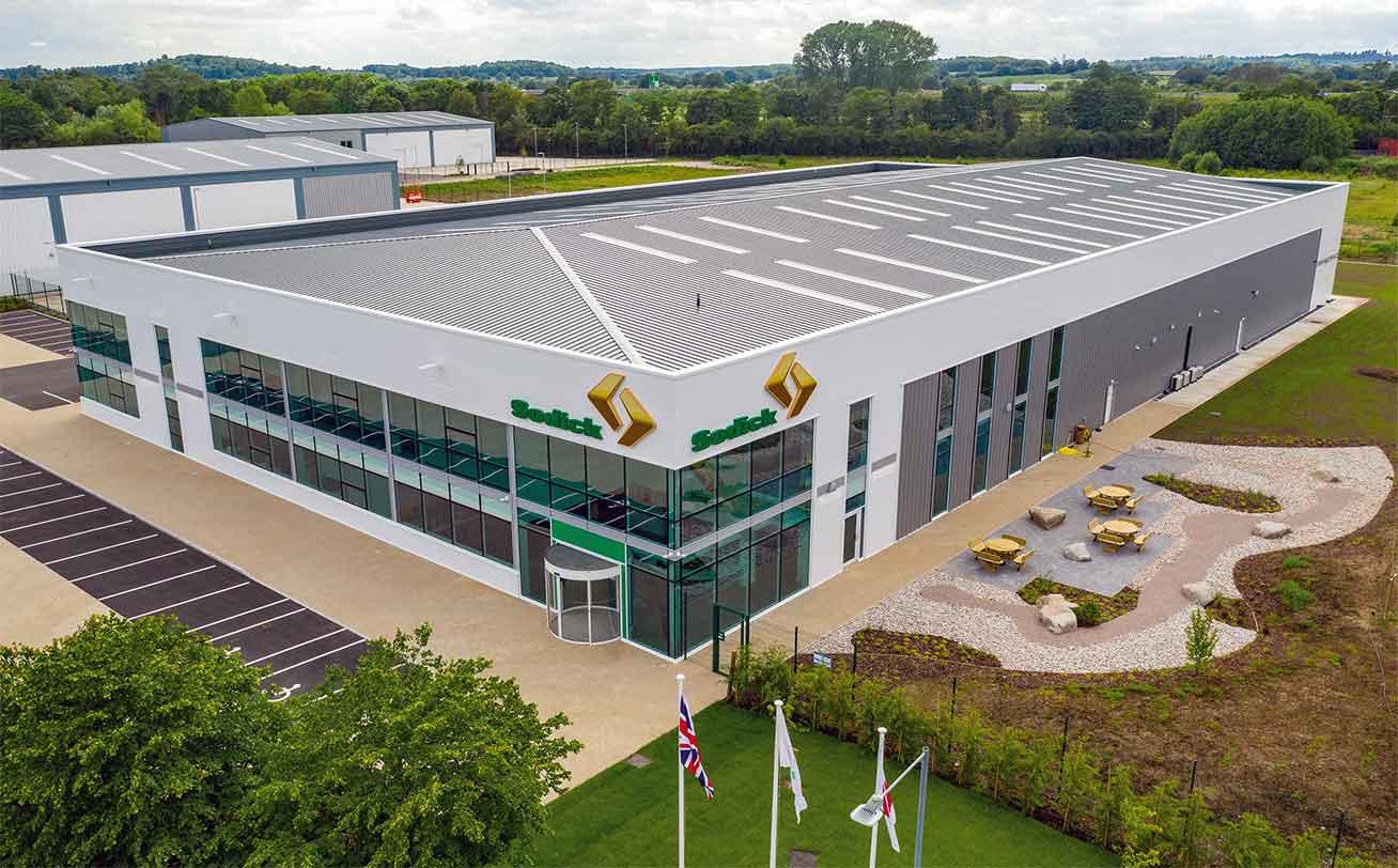 новое здание Sodick Europe
