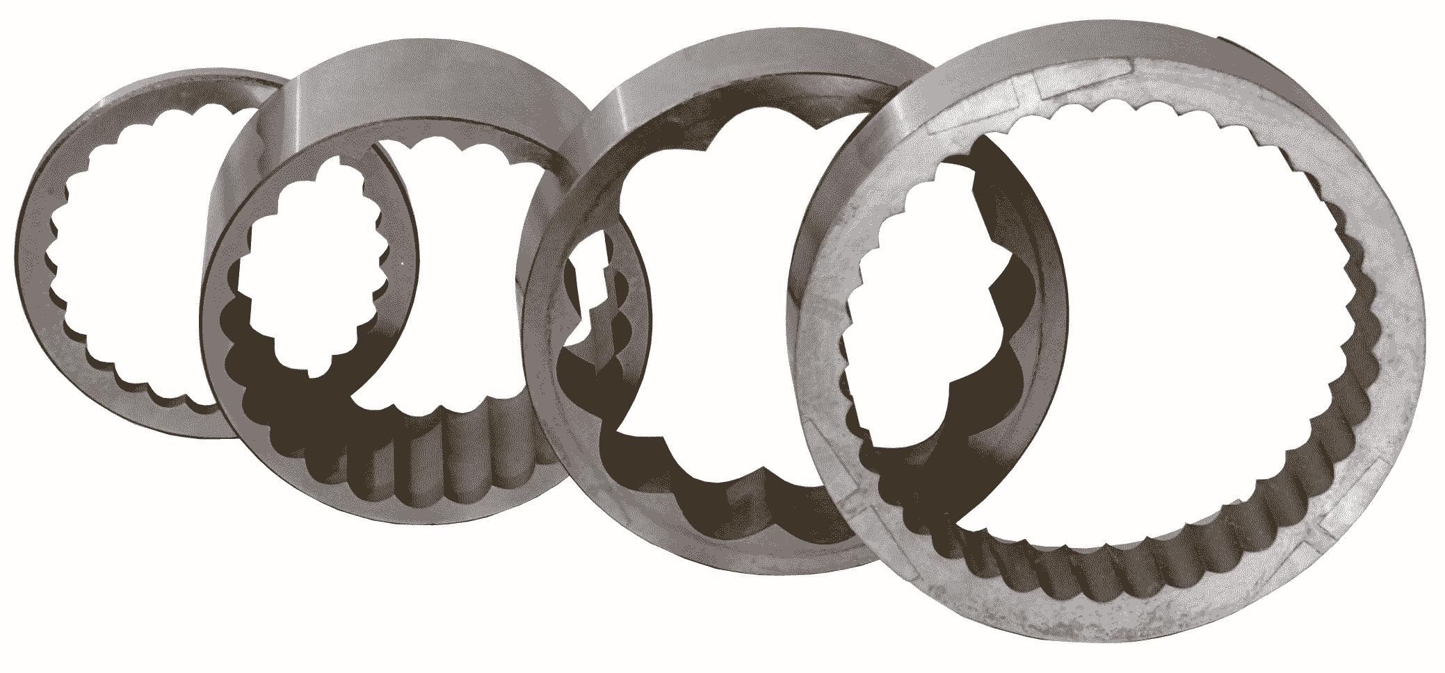 электроэрозионное резание на станке Sodick сложной детали венца волнового редуктора