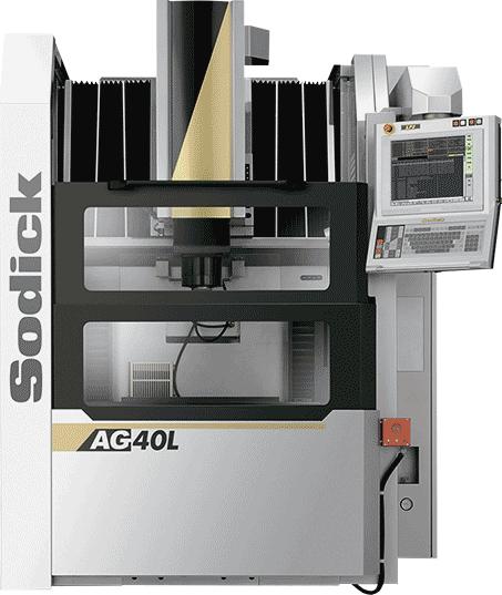 электроэрозионный прошивной станок Sodick AG40L с линейными сервоприводами