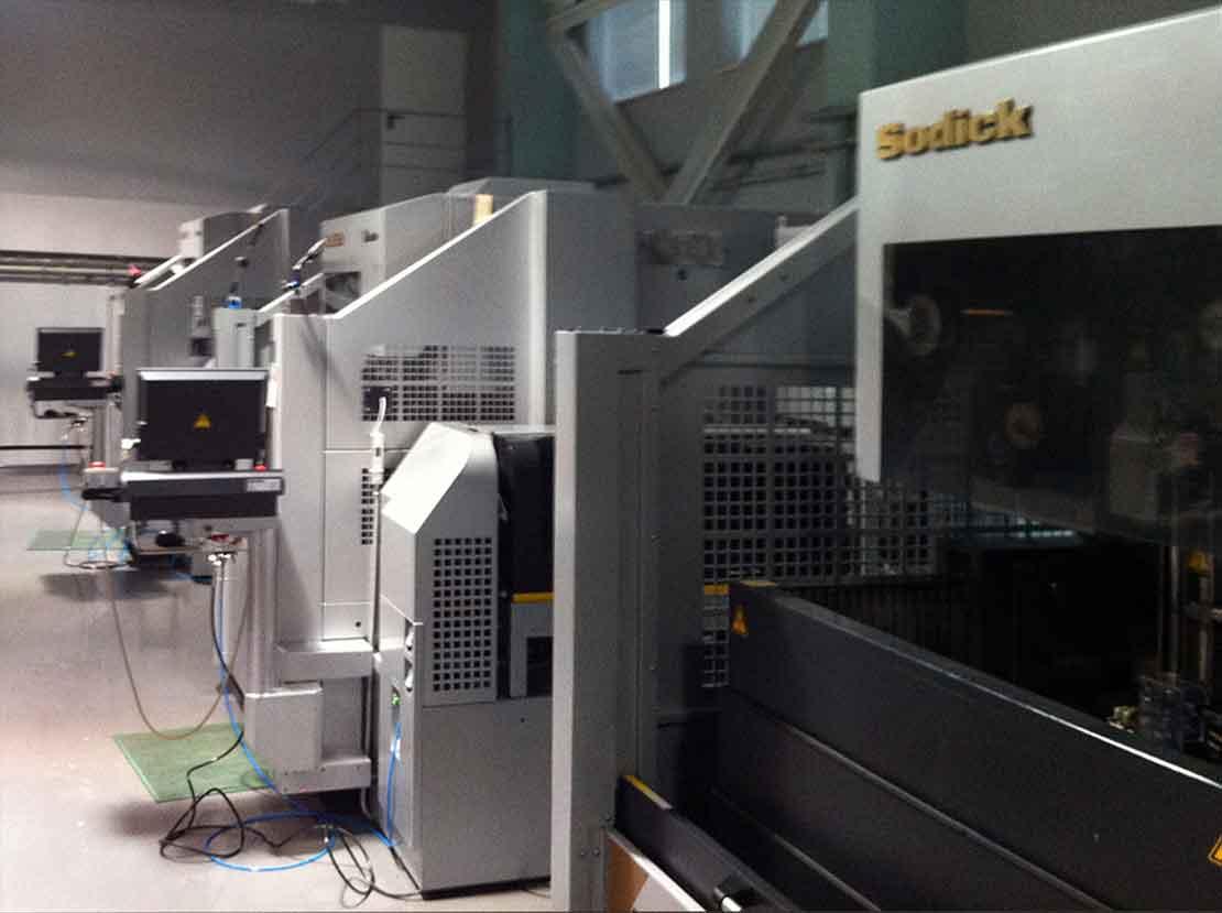 электроэрозионные станки Sodick на заводе ФЭД