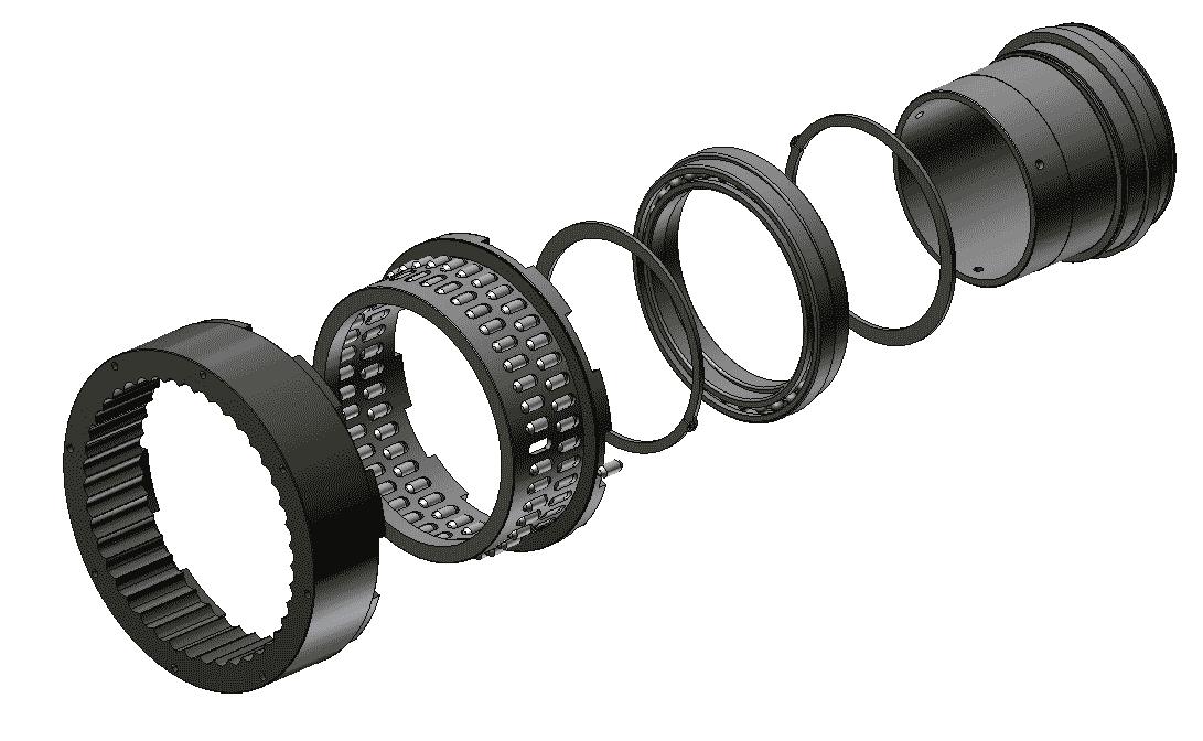 устройство волнового редуктора Сибмаш