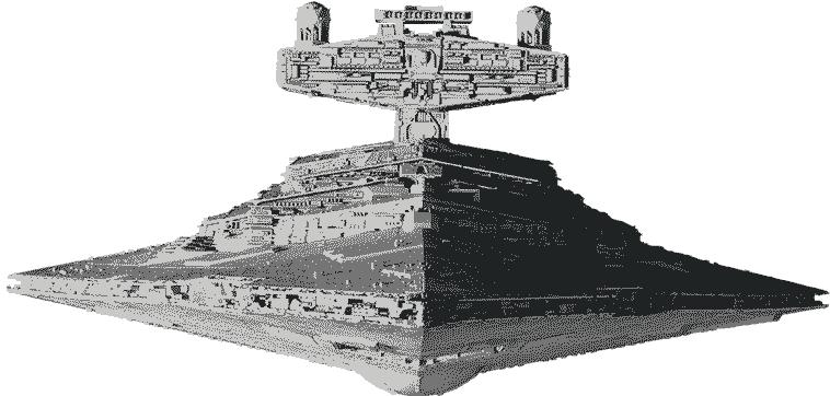 сборная модель звездолета производства Звезда